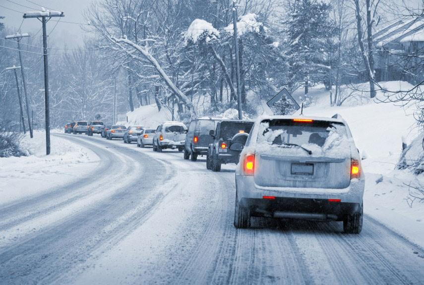 5 نکته اساسی هنگام رانندگی جاده برفی