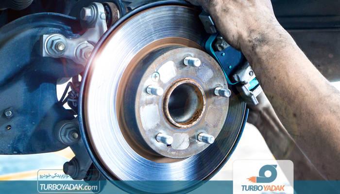 خرابی دیسک چرخ