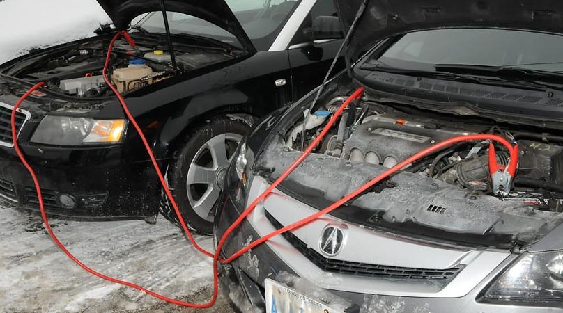 روشن کردن ماشین